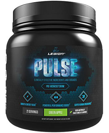 9. Legion Pulse Pre-Workout Supplement