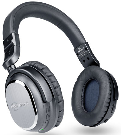 7. Naztech i9Bt Over-Ear Active Noise Cancelling Headphones