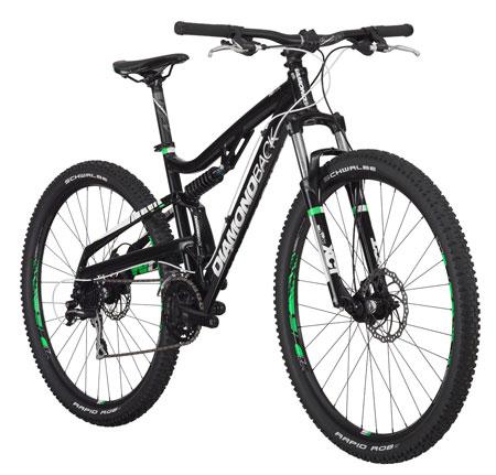 5. Diamondback Recoil 29er Full Suspension Mountain Bike: