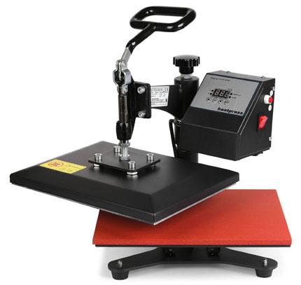 10. Mophorn Digital Swing Away Rigid Steel Heat Press Machine for T Shirts