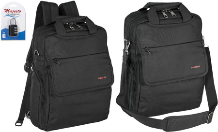 1. Convertible Laptop Backpack