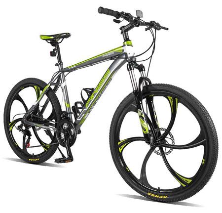 9. Merax Finiss Aluminum Mountain Bike: