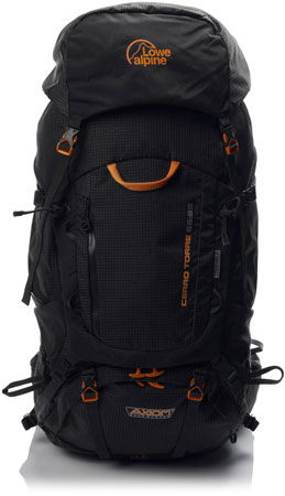 10. Lowe Alpine Cerro Torre 65:85 Backpack