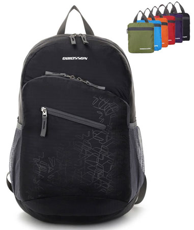 7. ORICSSON Unisex Durable Travel Backpack