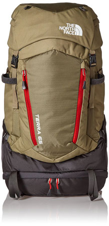 5. The North Face Terra 65 Exploration Pack