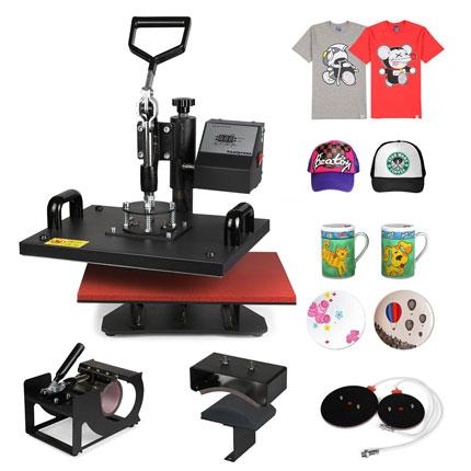 5. ShareProfit Heat Presses Hat Press Heat Press Machine