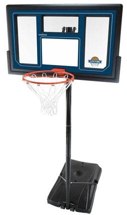 6. Lifetime 1529 Courtside Height Adjustable Portable Basketball System