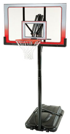 2. Lifetime 52 Inch Portable Basketball Hoop System
