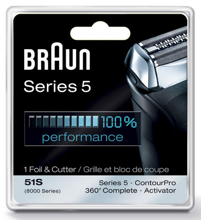 10. Braun Series 5 51s replacement Head