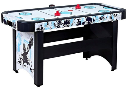 8. Harvil 5 Foot Air Hockey Table with Electronic Scoring