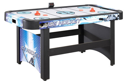 3. Hathaway Face-Off Air Hockey Table with Electronic Scoring 5-feet