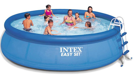 8. Intex 15ft X 42in Easy Set Pool Set