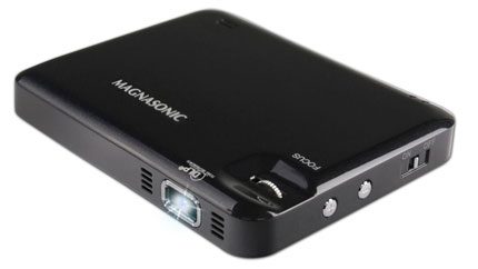 7. Magnasonic LED Video Projector