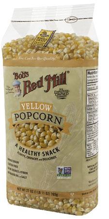 1. Bob's Red Mill Corn Popcorn, Yellow, 27 Ounce