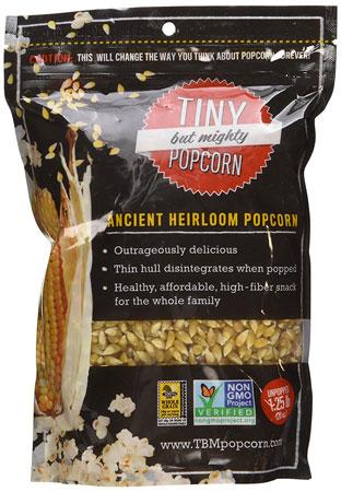 6. Tiny But Mighty Popcorn Ancient Heirloom Popcorn