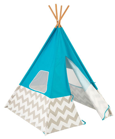 10. KidKraft Teepee Tent