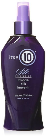 10. It's a 10 Silk Express Miracle Silk Leave-In Formula, 10 Ounce