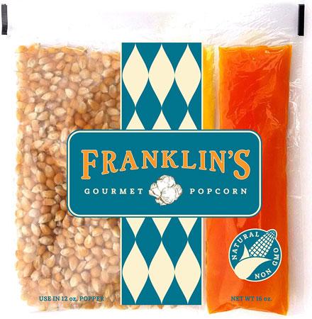 9. Franklin's Gourmet Movie Theater Popcorn