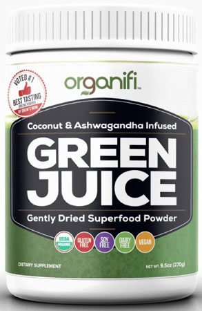 7. Organic - Green Juice Super Food Supplement (270g)
