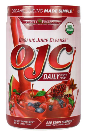 2. Certified Organic Juice Cleanse (OJC) 8.46oz - Red Berry Surprise