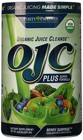 6. Purity Products - Certified Organic Juice Cleanse (OJC) Plus - Berry Greens