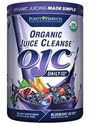 9. Certified Organic Juice Cleanse (OJC) - Blueberry Detox - Net Wt. 8.82 oz