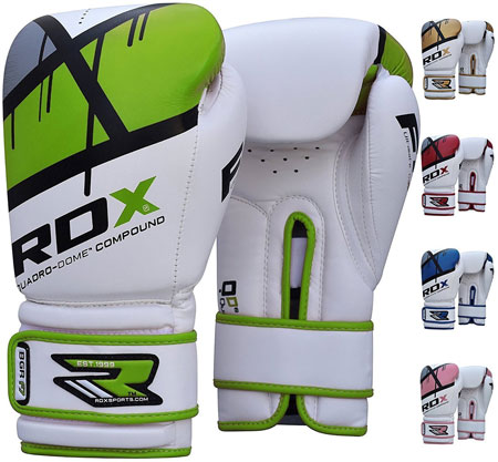 9. RDX Maya Hide Leather Boxing Gloves Gel Sparring Glove F7
