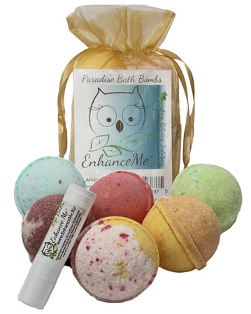 5. Bath Bombs Gift Set from Enhance Me