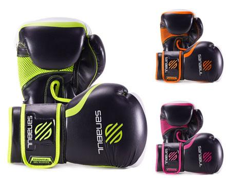 5. Sanabul Essential GEL Boxing Kickboxing Training Gloves