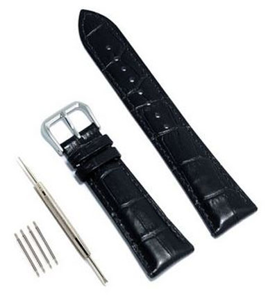 4. Vetoo 22mm / 20mm Leather Watch Band