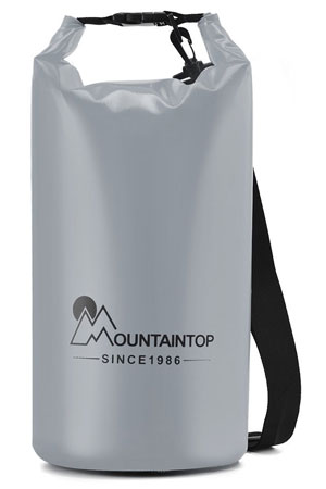 7. Mountaintop Lightweight Waterproof Dry Bag