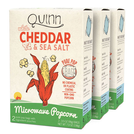 8. Quinn Popcorn Microwave Popcorn