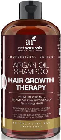 8. Art Naturals Organic Argan Oil Hair Loss Shampoo for Hair