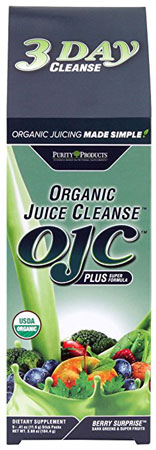 4. 3 Day Organic Juice Cleanse