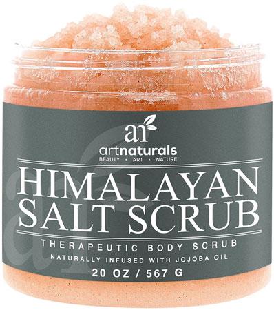 3. Art Naturals Himalayan Salt Body Scrub