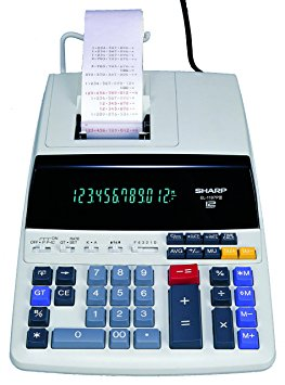 4. Sharp EL-1197PIII Heavy Duty Color Printing Calculator
