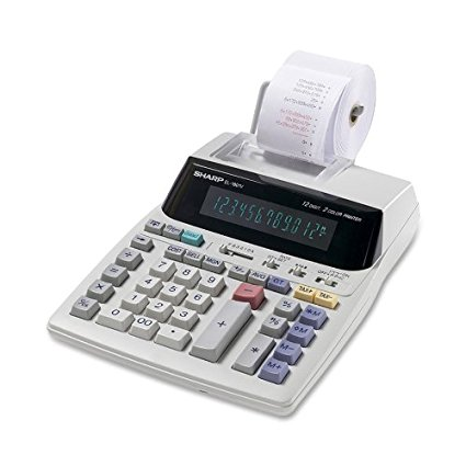 5. Sharp EL-1801V Portable Serial Printing Calculator