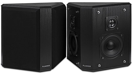 3. Fluance AVBP2 Home Theater Bipolar Surround Sound Satellite Speakers