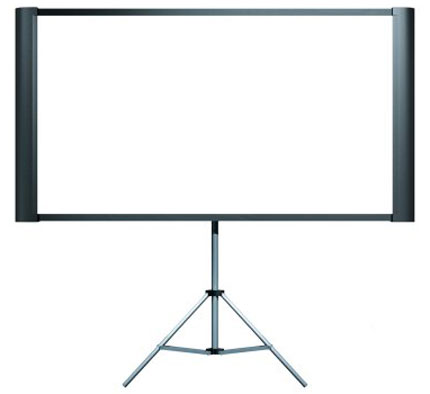 5. Epson Duet 80-Inch Dual Aspect Ratio Projection Screen