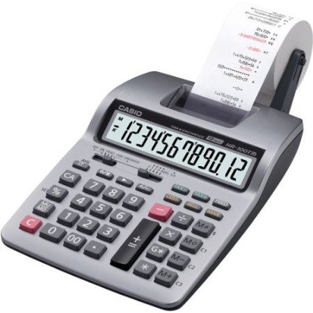 1 Casio Inc. HR-100TM Business calculator