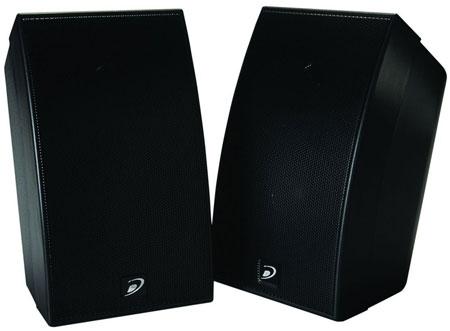 7. Dayton Audio SAT-BK Satellite Speaker Pair - Black