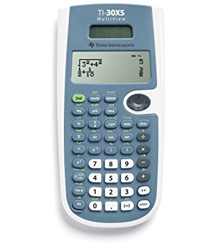 4. Texas Instruments TI- 30XS multi-view scientific calculator