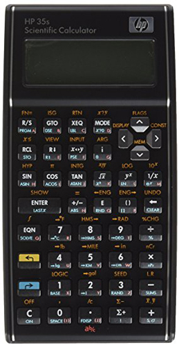 10. HP 35s scientific calculator
