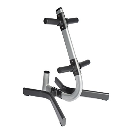 2. CAP Barbell Olympic 2-inch plate and bar storage rack