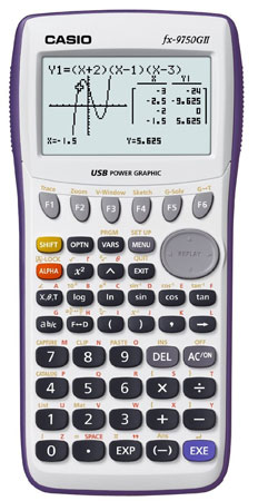 1. Casio fx-9750G11 Graphing Calculator