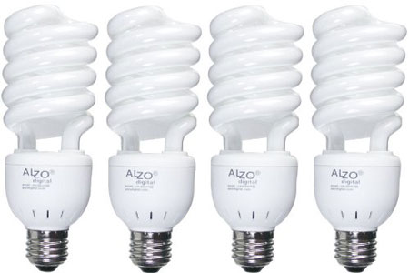 3. ALZO 27W Full Spectrum CFL Light Bulb 5500K