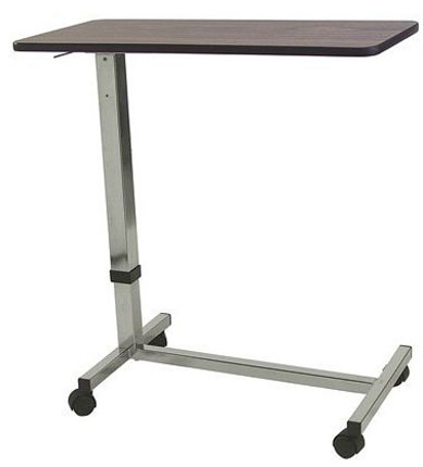 6. Adjustable Non-Tilt Overbed Table / Hospital Table