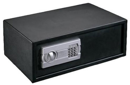 4. Stack-On PS-508 Extra Wide Strong Box Safe with Electronic Lock