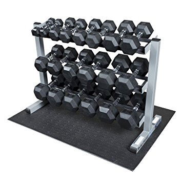 7. Body Solid GDR363-RFWS Dumbbell Rack