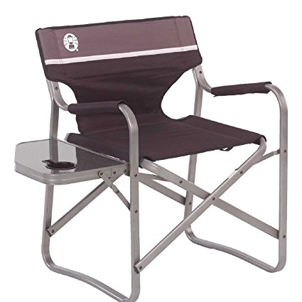 4. Coleman Aluminum Deck Chair